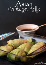 Asian Cabbage Rolls