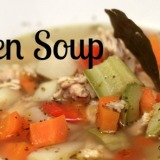 Chicken Soup – Perfect for Wintertime!