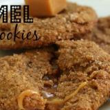 Caramel Filled Pumpkin Cookies