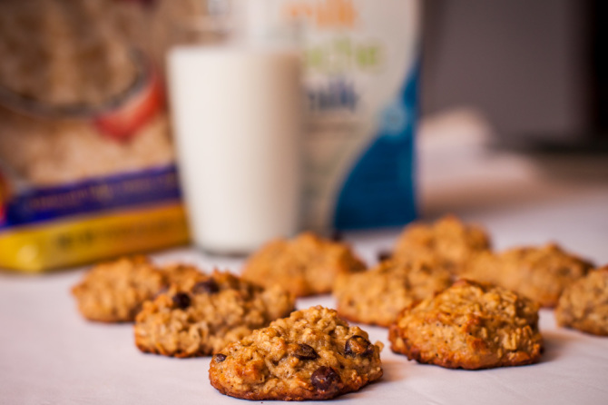 Banana Oats Cookie