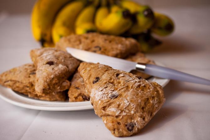 Banana Scones