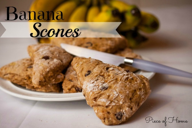 Banana Scones Main
