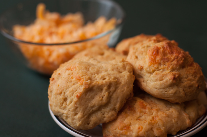Chessy Drop Biscuits