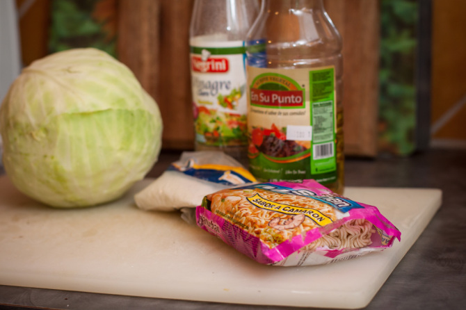 Cabbage Salad Ingredients
