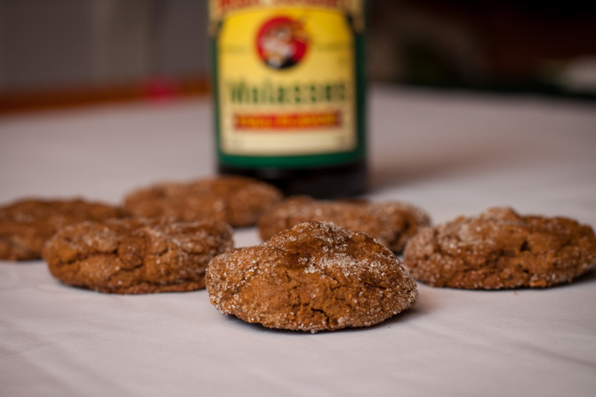 Molasses Cookies Finish