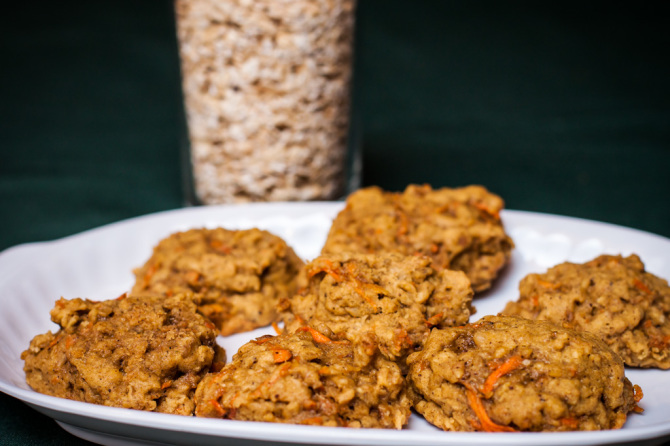 Oatmeal Carrot Cookie