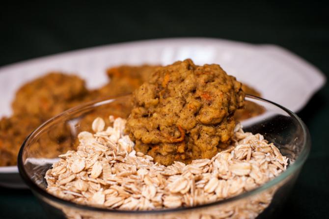 Oatmeal Carrot Cookies