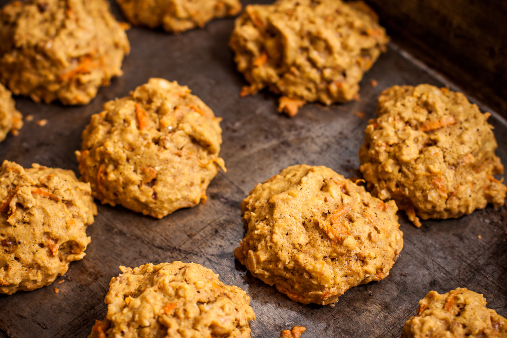 Oatmeal Carrot Cookies - Piece of Home