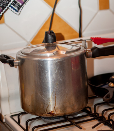 Beans in Pressure Cooker
