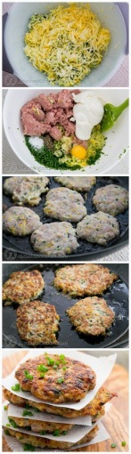 How To Make Chicken Zucchini Fritters Recipe