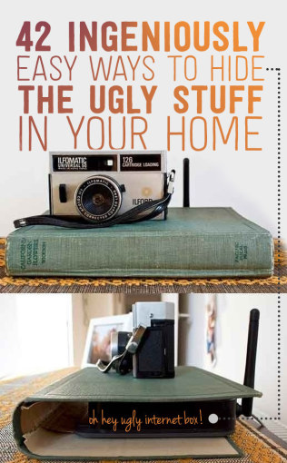 How to Hide the Ugly Stuff in your home