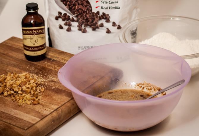 Chocolate Chip Cookies Ingredients