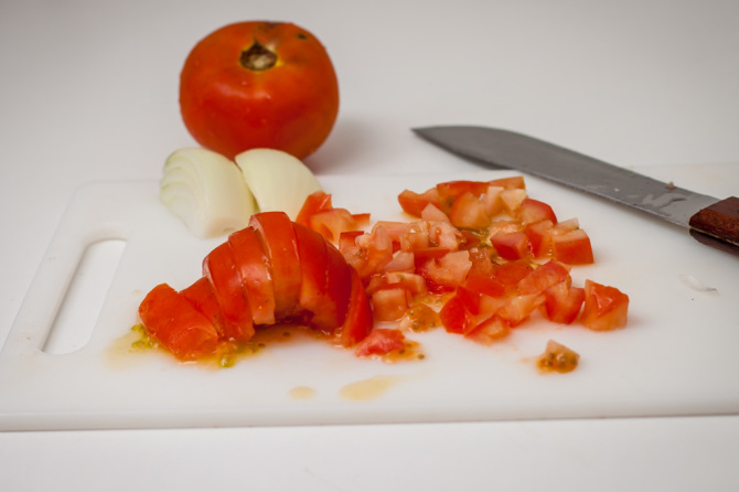 Chopped Tomatoes Salsa Picante