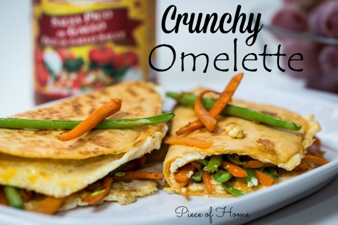 Crunchy Omelette  - Piece of Home