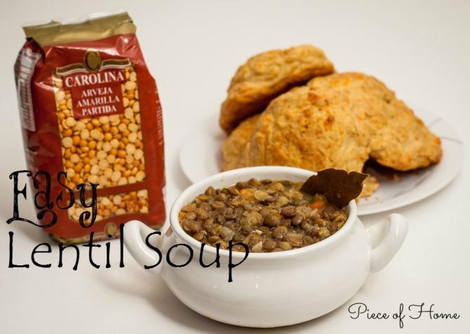 Lentil Soup with Bread FI