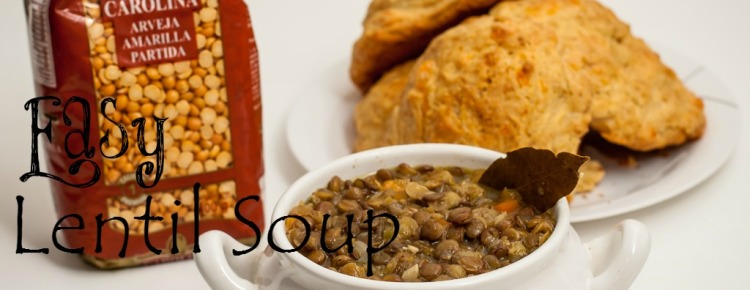Lentil Soup with Bread FI2