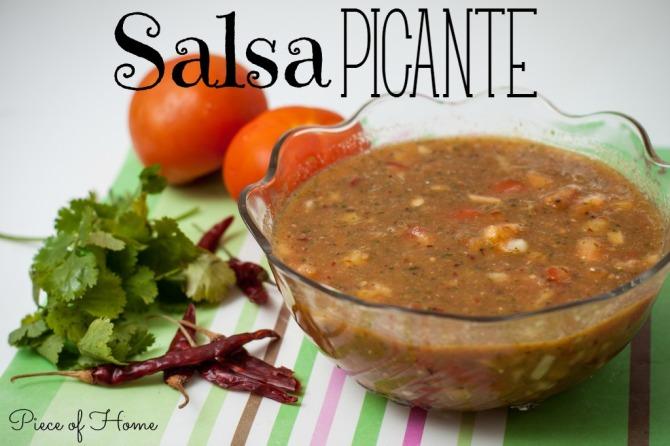 Salsa Picante Piece of Home