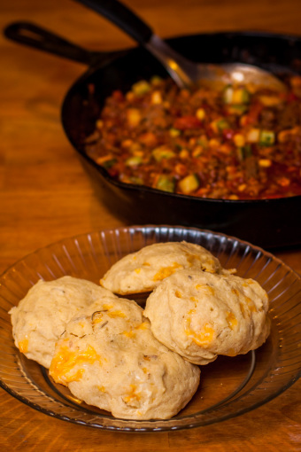 Sloppy Joes with Muffins