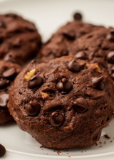 Triple Chocolate Chip Cookies 3
