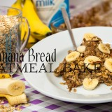 Banana Bread Oatmeal Bake
