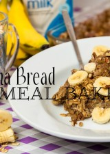 Banana Bread Oatmeal Bake FI
