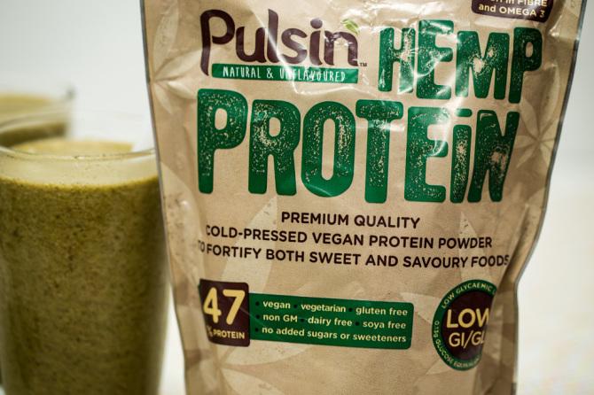 Chocolate Banana Protein Shake Hemp