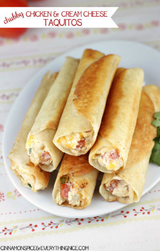 Chubby-Chicken-and-Cream-Cheese-Taquitos