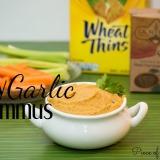 Easy Garlic Hummus