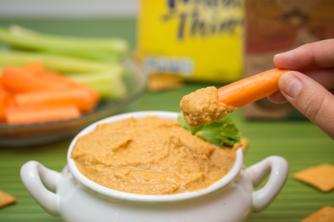 Hummus with Carrot