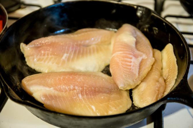 Sweet & Sour Tilapia - Fish