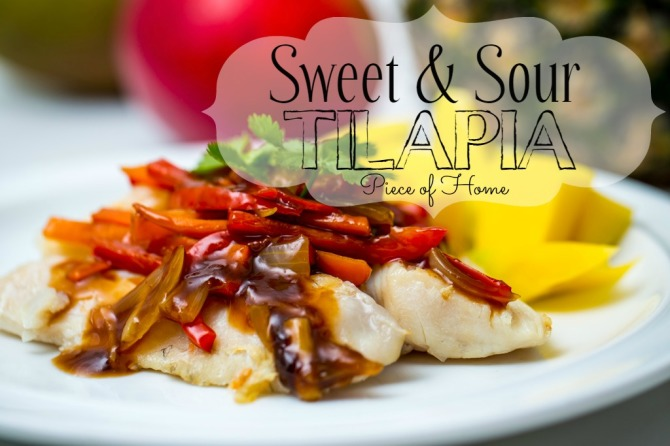 Sweet & Sour Tilapia Piece of Home