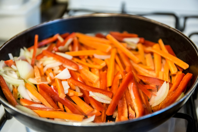 Sweet & Sour Tilapia - Vegetables