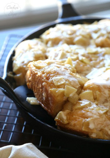 Skillet Apple Biscuits