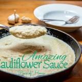 Amazing Cauliflower Sauce