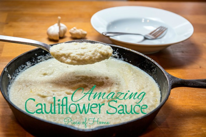Cauliflower Sauce Piece of Home