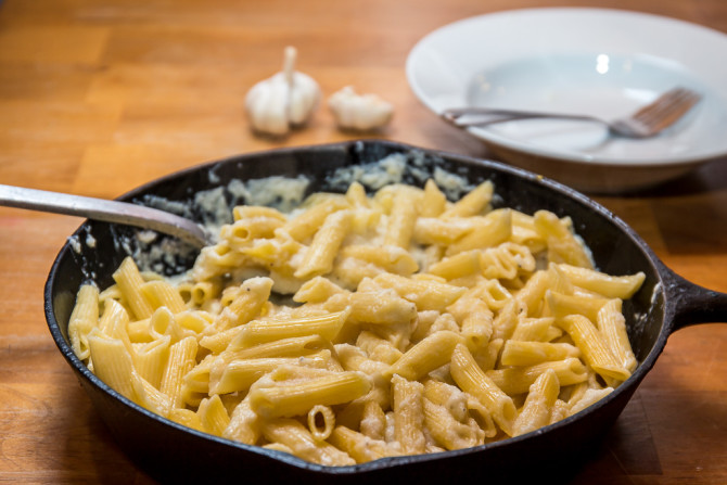 Cauliflower Sauce with Noodles