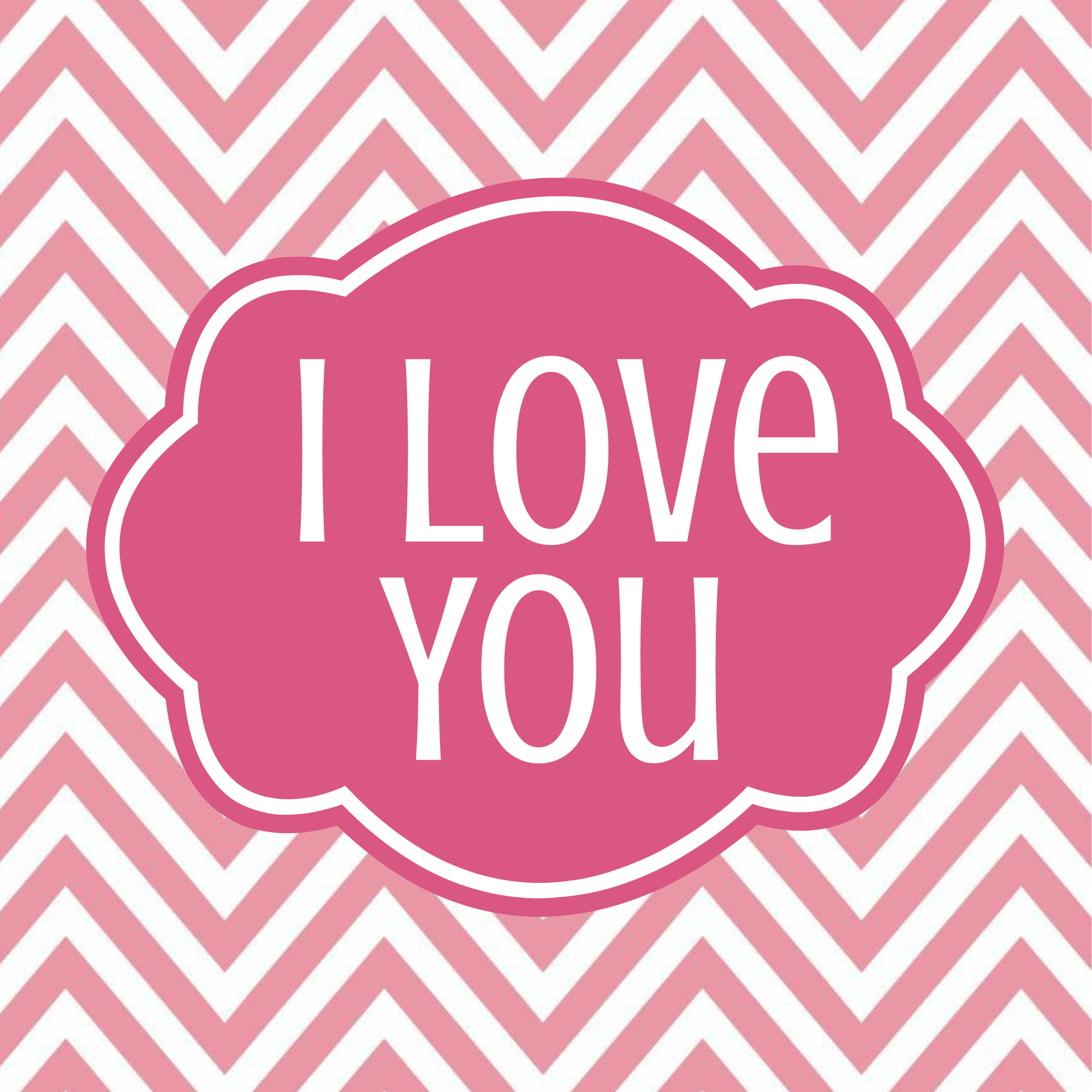 I Love You: Adorable Valentine's Day Home Decor!