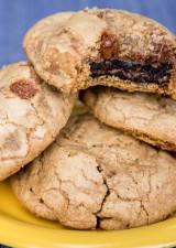 Oreo Stuffed Chocolate Chip Cookie