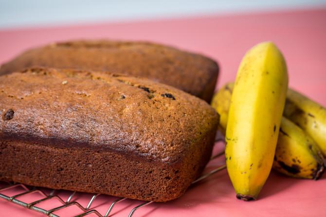 Simple Banana Bread - 2