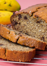Simple Banana Bread - Slices