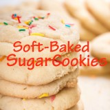 Soft-Baked Sugar Cookies