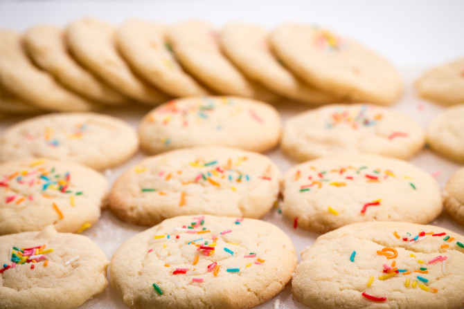 Sugar Cookies with Stacks