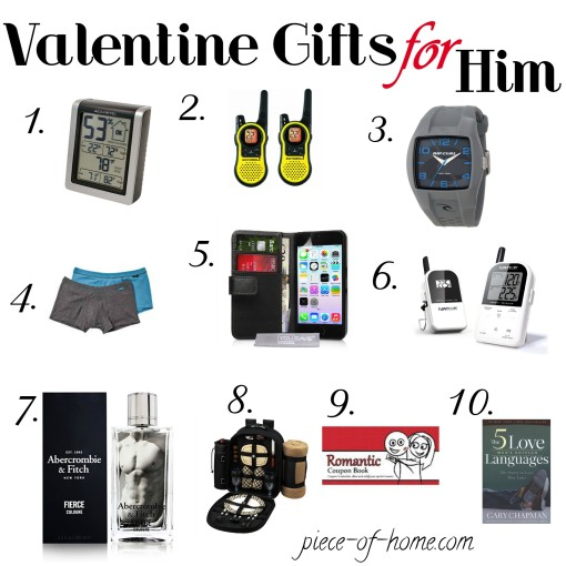 Valentines Gifts for Him