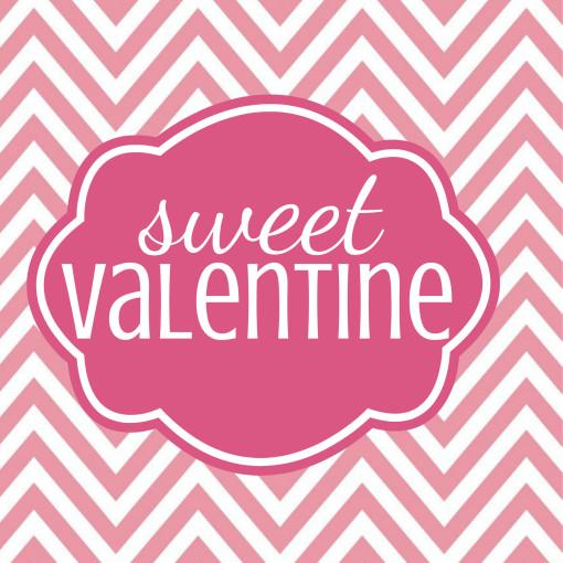 sweet valentine chevron