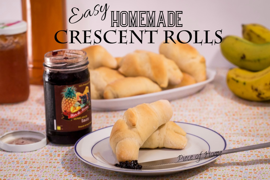 Easy Crescent Rolls Piece of Home