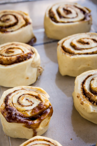 Cinnamon Roll Dough with Cinnamon