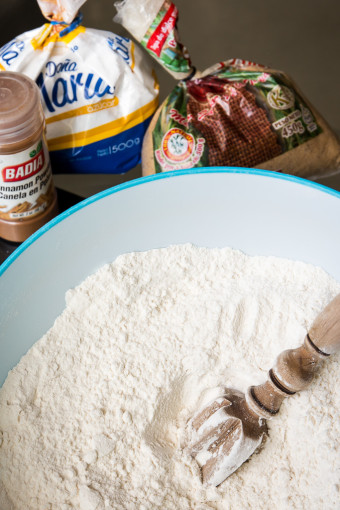 Cinnamon Roll Flour Mixture