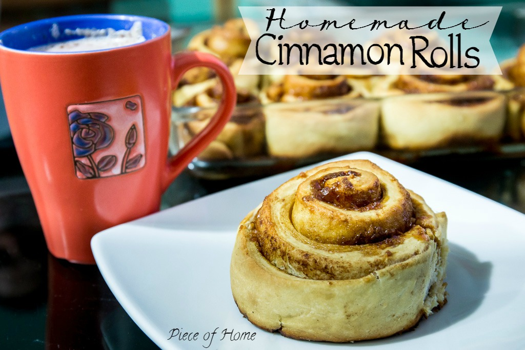 Cinnamon Roll Piece of Home