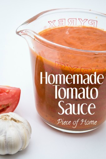 Tomato Sauce Piece of Home